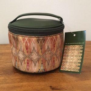 Zipper Cosmetic Bag Adler Sullivan Art Inst Chicag